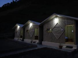 Rajput food planet and Bamboo huts, campsite in Shimla