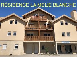 """LA MEIJE BLANCHE """"RESIDENCE DE TOURISME 2 étoiles"""", apartment in Villar-d'Arène"""