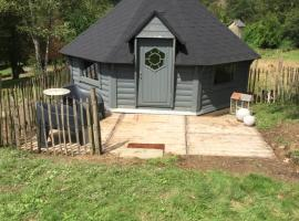 La cabane de l'Atelier, cabin in Bomal