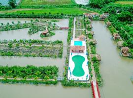 CASA ECO Mekong Resort, accessible hotel in Can Tho