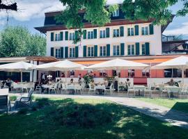 Hotel La Prairie, Swiss Bike Hotel, hôtel à Yverdon-les-Bains