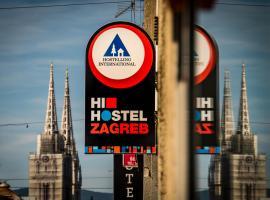 HI Hostel Zagreb, hotel near Zagreb Cathedral, Zagreb