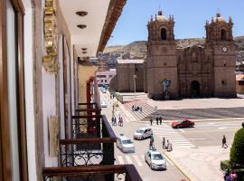 Hotel Hacienda Plaza de Armas, accessible hotel in Puno