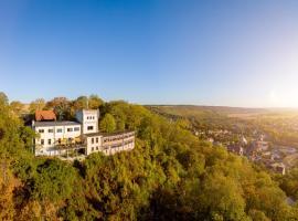 Berghotel Wilhelmsburg, Hotel in der Nähe von: Schauweinberg Herzoglicher Weinberg, Bad Kösen