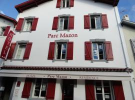 Hôtel Parc Mazon-Biarritz, boutique hotel in Biarritz