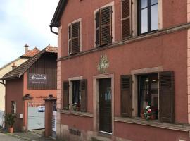 La bacchante, hotel near Le Haut Koenigsbourg, Saint-Hippolyte