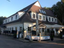 Dünenhotel am Meer, hotel in Warnemünde