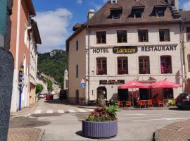 Hôtel Le Lacuzon, hôtel à Moirans-en-Montagne