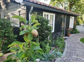 Cottage in secluded garden near centre Rotterdam, hotel near Plaswijckpark, Rotterdam