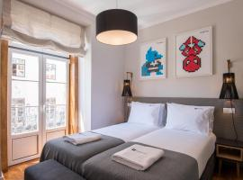 Urbano FLH Hotels Lisboa, hotel near MUDE - Design and Fashion Museum, Lisbon
