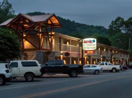 Rivers Edge Motel, hotel near Harrah's Casino, Cherokee
