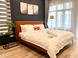 P'Residence 3bedroom Apartment3 1226sft with Pool, apartment in Kuching