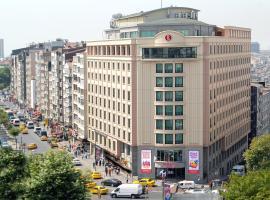 Ramada Plaza By Wyndham Istanbul City Center, отель Ramada в Стамбуле