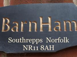 Southrepps BarnHam, vacation home in Cromer