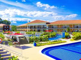 Hotel Campestre las Camelias, hotel in Montenegro