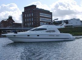 Rhein Yacht Lexa, family hotel in Duisburg