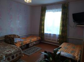 Guest House Naran, self catering accommodation in Bol'shoye Goloustnoye