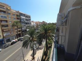 Квартира с видом на пальмы, hotel in Puerto de Sagunto