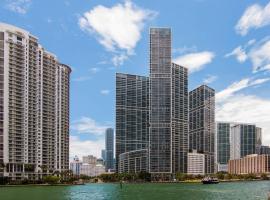 DELUXE 5 STAR CONDO ICONBRICKELL@25TH, FREE SPA/GYM/POOL, apartment in Miami