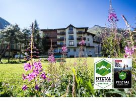 Hotel Gletscherblick, hotel in Sankt Leonhard im Pitztal