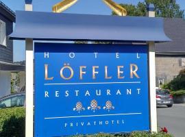 Hotel Löffler, hotel near Brembergkopf 1, Winterberg