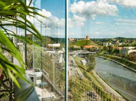 Vilnius city best view apartments, hotel in Vilnius