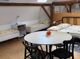 Atelier Stodola, ubytování v destinaci Klatovy