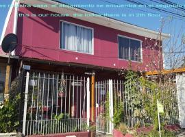 dpto entero, 1D1B, independiente, adosado a casa, habitación en casa particular en Santiago