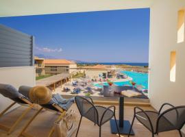 Apollonion Asterias Resort and Spa, hotel near Petani Beach, Xi