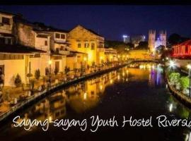 Sayang-sayang Youth Hostel Riverside, hostel in Malacca