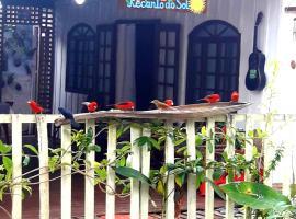"""Recando do Sol Encantado """"Hospedagem Simples"""", hotel in Ilha do Mel"""
