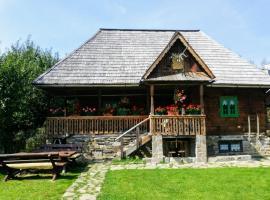 Pajisti Verzi / Green Meadows Guest House, farm stay in Vişeu de Sus
