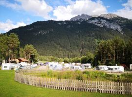 Camping Lechtal, vacation rental in Vorderhornbach