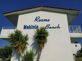 Makinia Beach, hotel near Patras Port, Nafpaktos