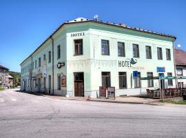 Hotel Panský dům 1 s.r.o., hotel poblíž významného místa Stezka korunami stromů Lipno, Vyšší Brod