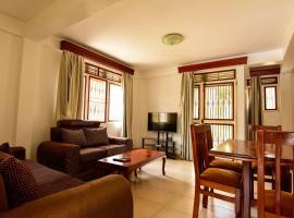 Crane Serviced Apartments, apartment in Entebbe