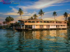 Welwet Cruises, boat in Alleppey