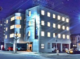 ビジネスホテルパレス21、徳島市のホテル