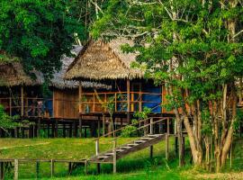 Amazon Muyuna Lodge - All Inclusive, cabin in Paraíso