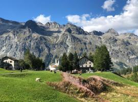 Hotel Sonne Fex Alpine Hideaway, hotel a Sils Maria