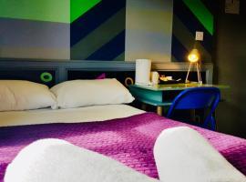 KX Rooms Kings Cross, hotel in Bloomsbury, London