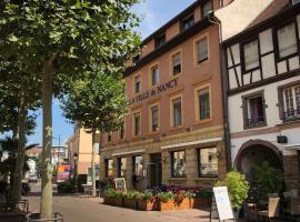 Hotel A la Ville de Nancy, hotel near The Dominican Church, Colmar