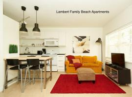 Lambert family beach apartments - unit 1, apartment in Fort Lauderdale