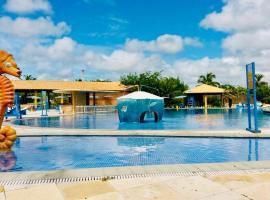 Pousada Chácara Lago Seco, hotel with pools in Camocim