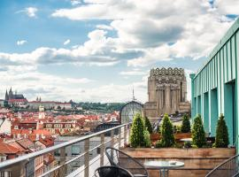 Wenceslas Square Terraces, accessible hotel in Prague