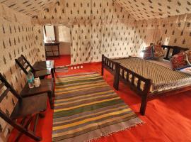 Rajwada Desert Camp, luxury tent in Jaisalmer