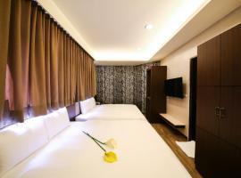 沐月二館,台南的飯店