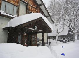 White Tree Lodge Madarao Tangram, hotel in Shinano