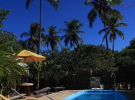 Imbassaí Eco Hostel Lujimba, hotel in Imbassai