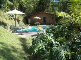 SÍTIO GARANHUS, hotel with pools in Teresópolis